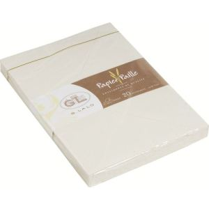 G. Lalo 20 enveloppes 11,4 x 16,2 cm