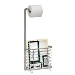 InterDesign Porte papier de toilette et magazines Forma