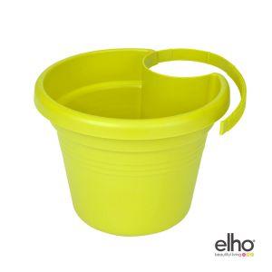Elho Corsica - Pot gouttière lime vert 26x24 cm