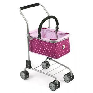 Bayer Chic Chariot de supermarché métallique