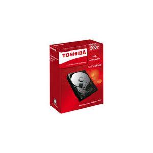 "Toshiba HDWD105EZSTA - Disque dur interne P300 500 Go 2.5"" SATA III 7200rpm"