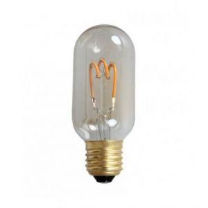 Ampoule LED rétro Edison Ovale (D.4,5cm) filament twist 3,6W (E27)
