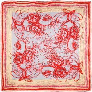 Allée du foulard Carré de soie Premium Pash Draft
