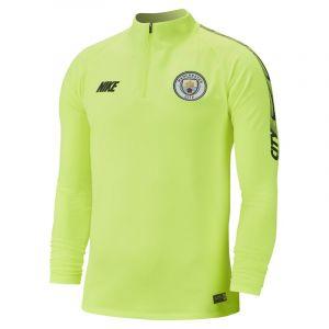 Nike Haut de footballà manches longues Manchester City FC Dri-FIT Squad Drill pour Homme - Jaune - Couleur Jaune - Taille XL
