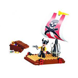 Sluban Building Blocks Pirate Series Pirate Raft