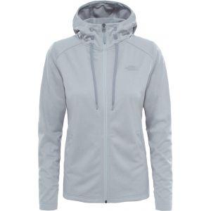 The North Face Tech Mezzaluna Sweat-shirt à capuche Femme Gris FR XS (Taille Fabricant XS)