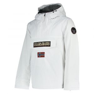 Napapijri Rainforest Winter, Blouson Homme, Blanc (Bright White 002) - X-Large