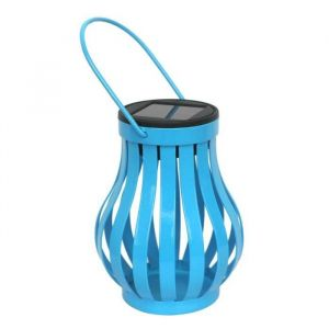 Galix Lampe de table solaire Bleue