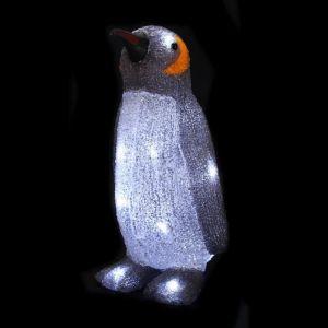 Pingouin lumineux 16 LED (14 x 12 x 23 cm)