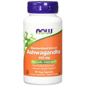 Now Foods Ashwagandha (Somnifera de Withania) - 450mg x90Vcaps