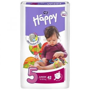 Bella Baby Happy Junior taille 5 (12-25 kg) - 42 couches
