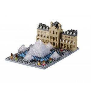 Brixies 410166 - Musée du Louvre 3D-Motif