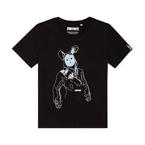 T-shirt - Fortnite - Lapin noir et blanc - 16 ans