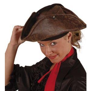 Chapeau de pirate en cuir