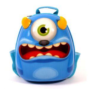 Bayer Chic 2000 Sac à dos enfant Bouncie monstre, 35 cm bleu
