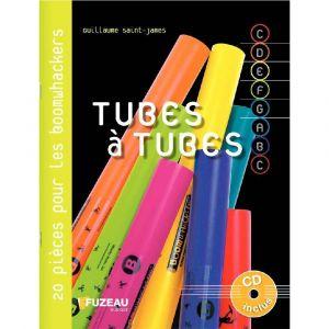 Fuzeau TUBES A TUBES - 20 PIECES POUR BOOMWHACKERS - LIVRE + CD