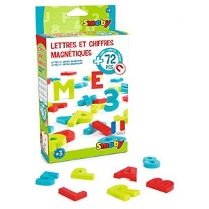 Smoby 72 Lettres & Chiffres magnétiques