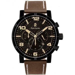 Pierre Lannier 237D43 - Montre pour homme avec bracelet en cuir