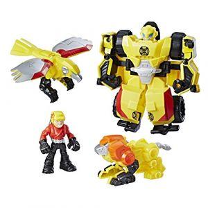 Hasbro Transformers Rescue Bots - Bumblebee équipe de sauvetage vertical