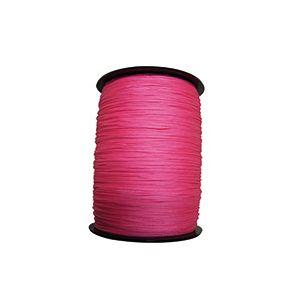 Taliaplast 400512 - Cordeau tressé fluo rose diamètre 2.5 mm longueur 200 mètres