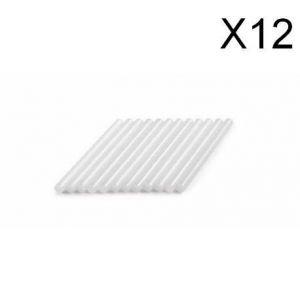 Dremel 2615GG01JA - Lot de 12 batons de colle universelle 7 mm - température haute