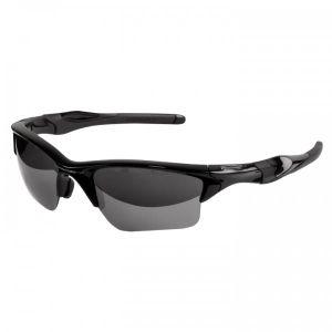 Oakley OO9154-01 Half Jacket 2.0 XL Polished Black Lens Black Iridium
