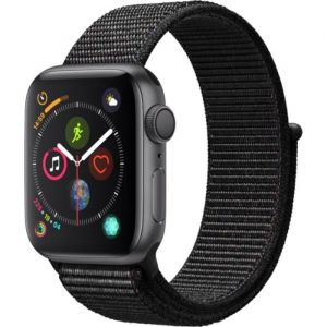 Apple Watch Series 4 - 40mm - Alu Gris / Boucle Noir