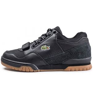 Lacoste Missouri 318 1 G SPM Blk Gum Leather Textile Suede Pointure 41