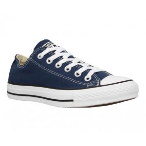 Converse Chaussures casual unisexes Chuck Taylor All Star Basses Toile Bleu marine - Taille 45