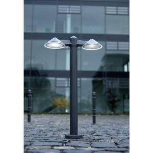 Lutec Lampadaire LED extérieur ECO-Light Cone 24 W anthracite 80 cm