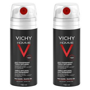 Vichy Homme - Déodorant anti-transpirant 72h triple diffusion