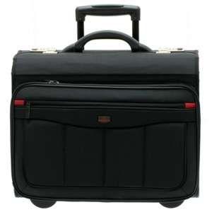Davidt's Pilot case en nylon Trolley - Coloris noir intérieur rouge