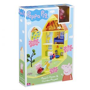 Peppa Pig Maison et Jardin [Jouet]