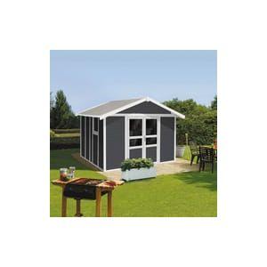 Grosfillex Basic Home 11 - Abri de jardin 10,60 m²