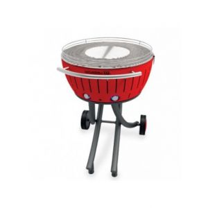 Lotusgrill lg-ro-600 - Barbecue à charbon 60 cm rouge xxl