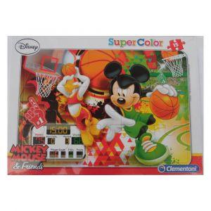 Guizmax Puzzle Cadre Mickey 15 pièces Disney, Enfant Basket Donald