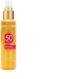 Mary Cohr Huile sèche anti-âge solaire corps SPF 50