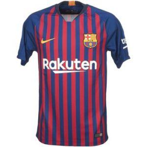Nike Maillot de football 2018/19 FC Barcelona Stadium Home pour Homme - Bleu - Taille L