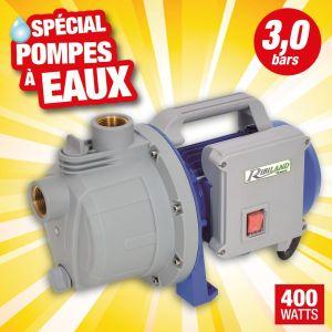 Ribiland Pompe à eau auto-amorçante 400 w 3 bars