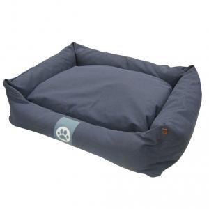 Overseas Lit pour chiens Toile 90 x 70 22 cm Bleu marine
