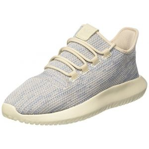 Adidas Originals Tubular Shadow - Baskets - Homme - Marron (Clear Brown/Tactile Blue/Chalk White), 41 1/3 EU