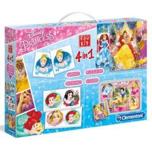Clementoni Edukit 4 en 1 Disney Princesses