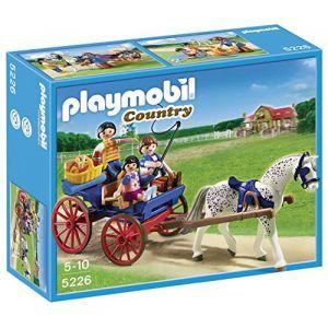 Playmobil 5226 - Country : Calèche avec famille