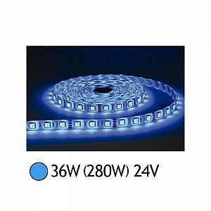 Vision-El BANDE LED BLEU 5 M 30 LEDS 7.2 W / M IP20 24V