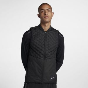 Nike Veste de running AeroLoft Homme - Noir - Taille L