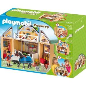 Playmobil 5418 Country - Écurie transportable