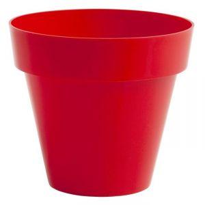 Pot rond en plastique Ø26 cm