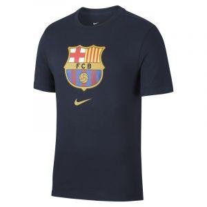 Nike Maillot FC Barcelona 20192020 Crest Bleu marine / Jaune - Taille S