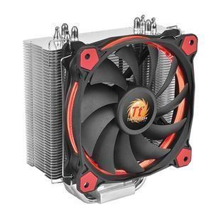Thermaltake Riing Silent 12 - Ventilateur processeur à LEDs 120 mm pour Intel et AMD