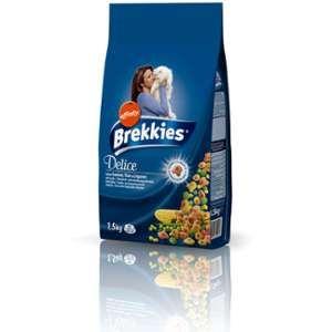 Brekkies Croquettes chats saumon thon légumes - le paquet de 1,5 kg
